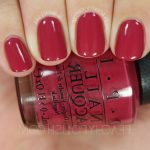 Comparatif gel color opi