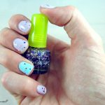 Test ongles paillettes