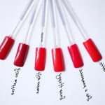 Comparatif rouge a ongle