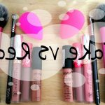 Comparatif marques de maquillage