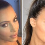 Test contouring maquillage