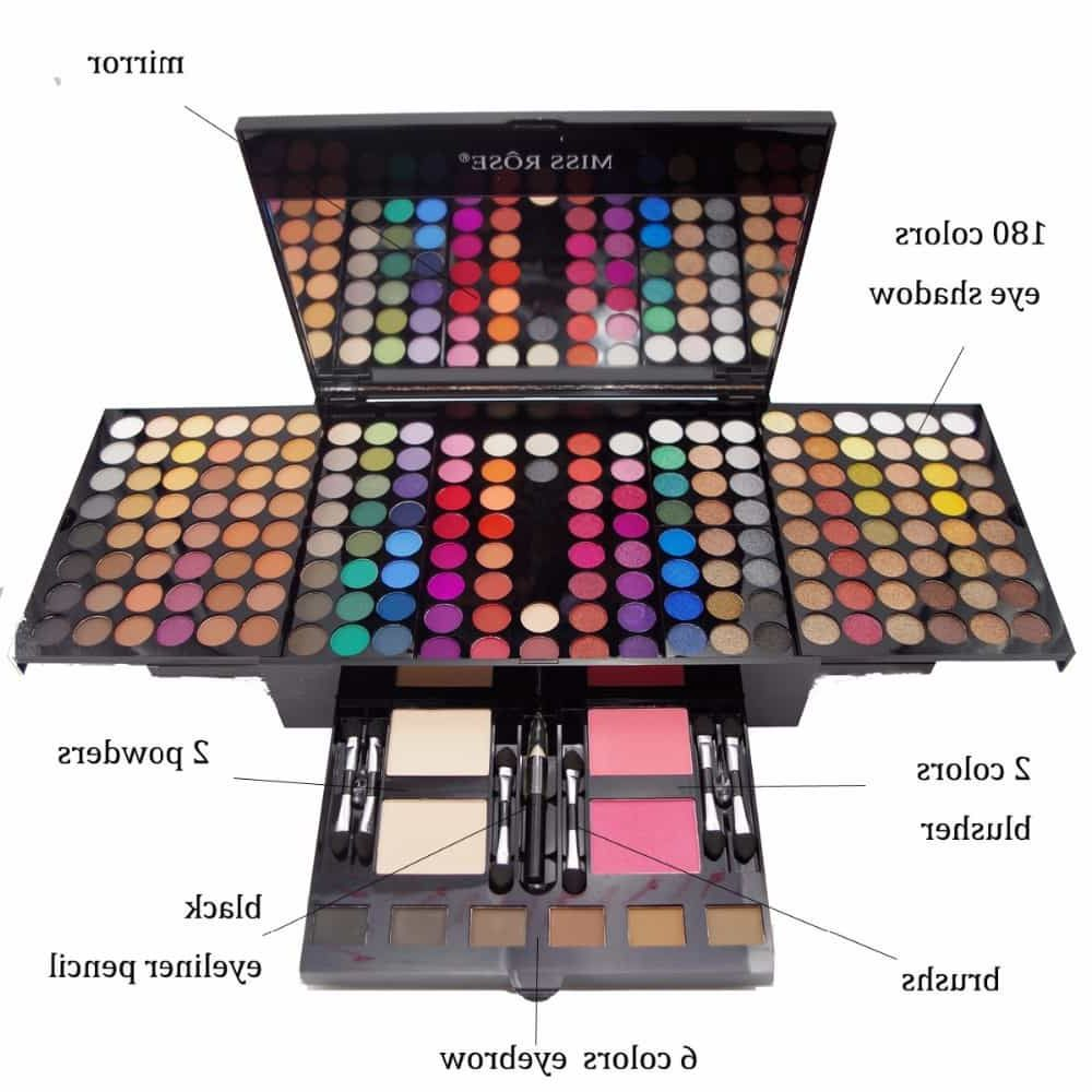 Test Kit Complet Maquillage Professionnel