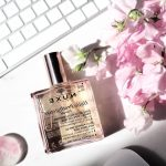 Test parfum flower