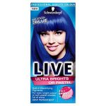 Comparatif coloration bleu cheveux