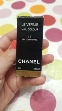 guide dachat vernis beige chanel