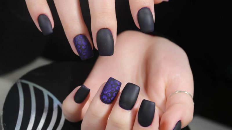 test vernis a ongles mat