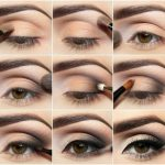 Comparatif maquillage nud yeux marron