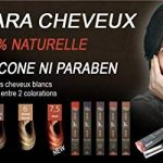 Comparatif mascara cheveux blancs