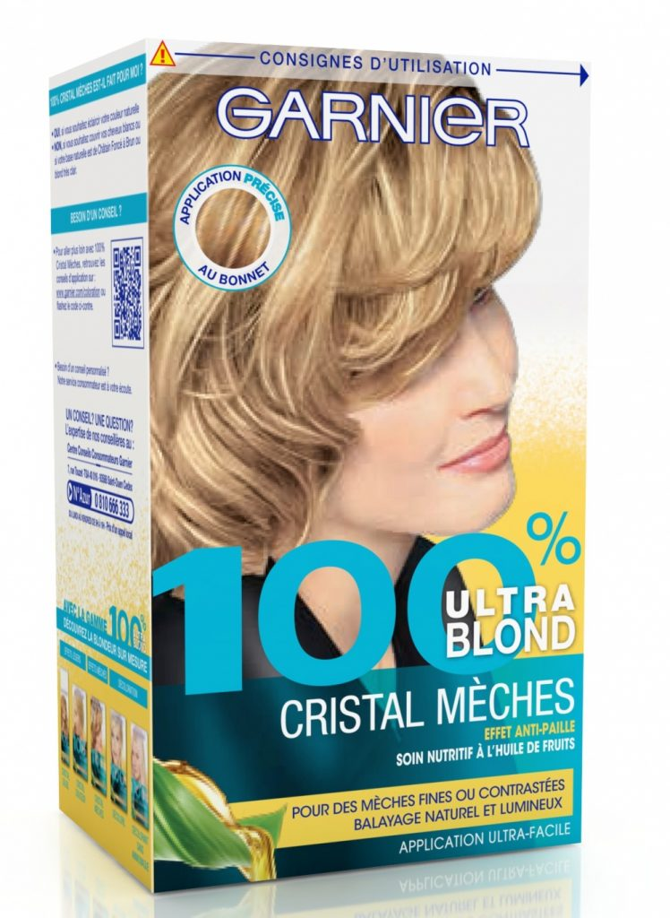 test kit meches blondes