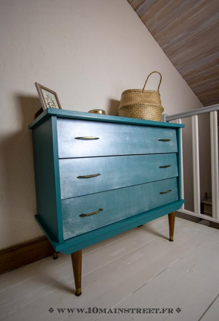 comparatif commode turquoise