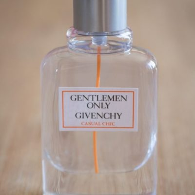 test givenchy only gentleman