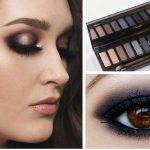 Test palette maquillage smoky eyes