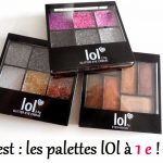 Test maquillage a 1 euro