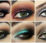 Comparatif idee maquillage yeux verts