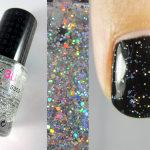 Comparatif top coat pailleté