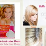 Test coloration blond tres clair