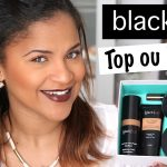 Test maquillage black