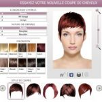 Test couleur cheveux chatain