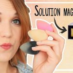 Test nettoyer éponge maquillage