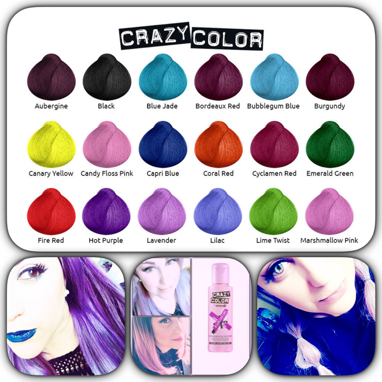 comparatif crazy color pinkissimo