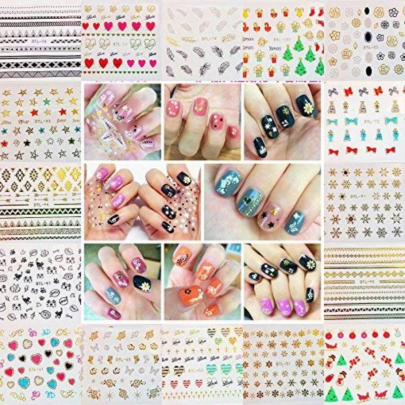 comparatif stickers ongle