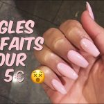 Test pose faux ongles pas cher