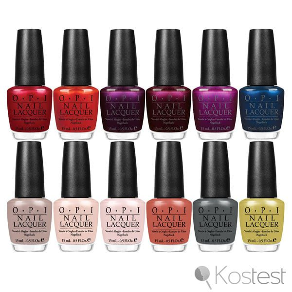 test vernis a ongle opi